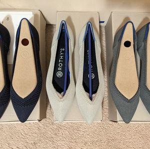 Size 6 Rothy's Flats BNIB
